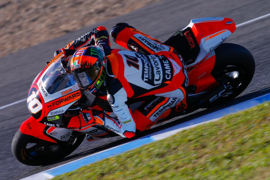 Luca Marini, Forward Racing Team, Gran Premio Red Bull de España