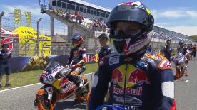 Round 2 of the 2017 Red Bull MotoGP™ Rookies Cup was won by Aleix Viu in Jerez.