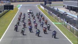 The full race session at the #SpanishGP of the Moto2? World Championship.