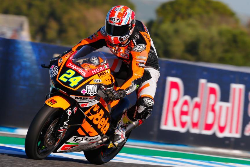 Simone Corsi, Speed Up Racing, Gran Premio Red Bull de España