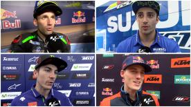 MotoGP™ riders give us feedback on their race results at the #SpanishGP.
