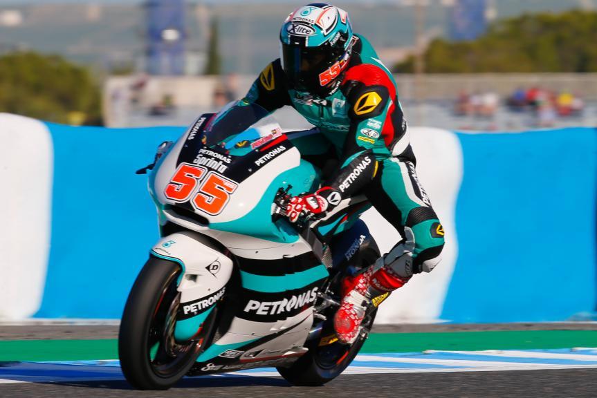 Hafizh Syahrin, Petronas Raceline Malaysia, Gran Premio Red Bull de España