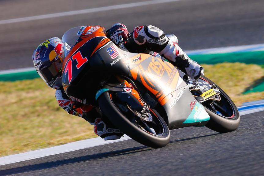 Ayumu Sasaki, SIC Racing Team, Gran Premio Red Bull de España