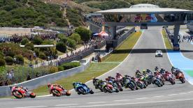 All the action from the full race session of the MotoGP™ World Championship at the #SpanishGP.