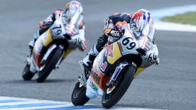 Watch the first race of the Red Bull MotoGP™ Rookies Cup from the Circuito de Jerez in Spain