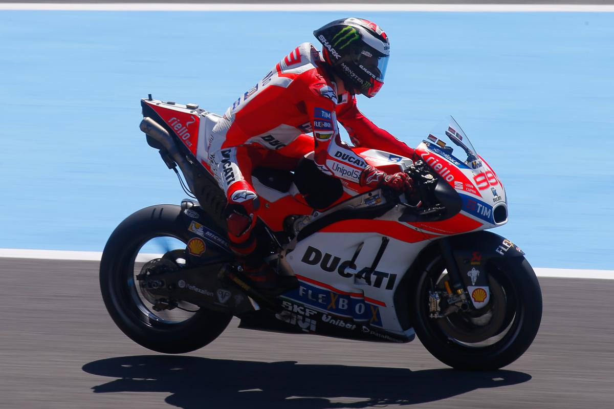 Lorenzo I M Starting To Feel The Ducati Is Mine Motogp