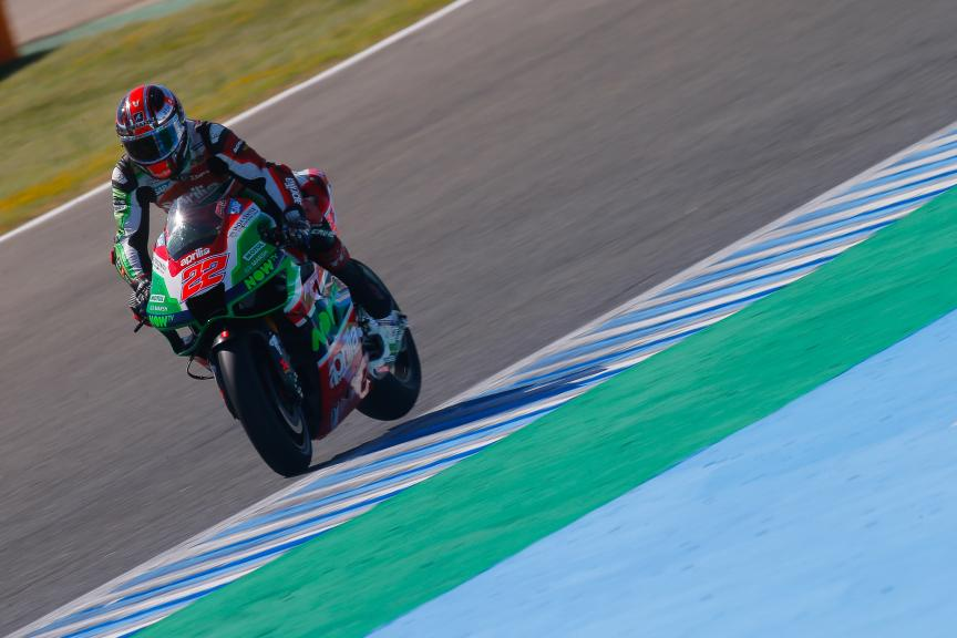 Sam Lowes, Aprilia Racing Team Gresini, Jerez MotoGP™ Official Test