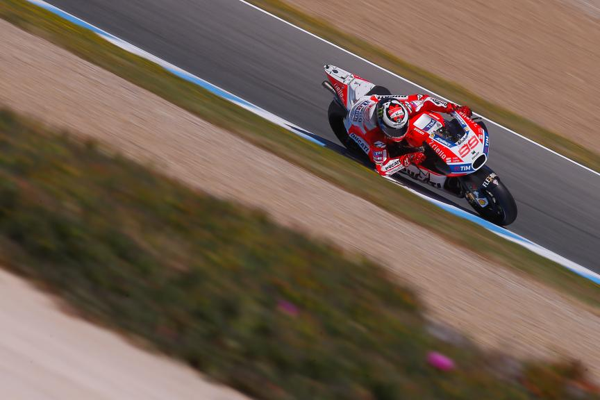 Jorge Lorenzo, Ducati Team, Jerez MotoGP™ Official Test
