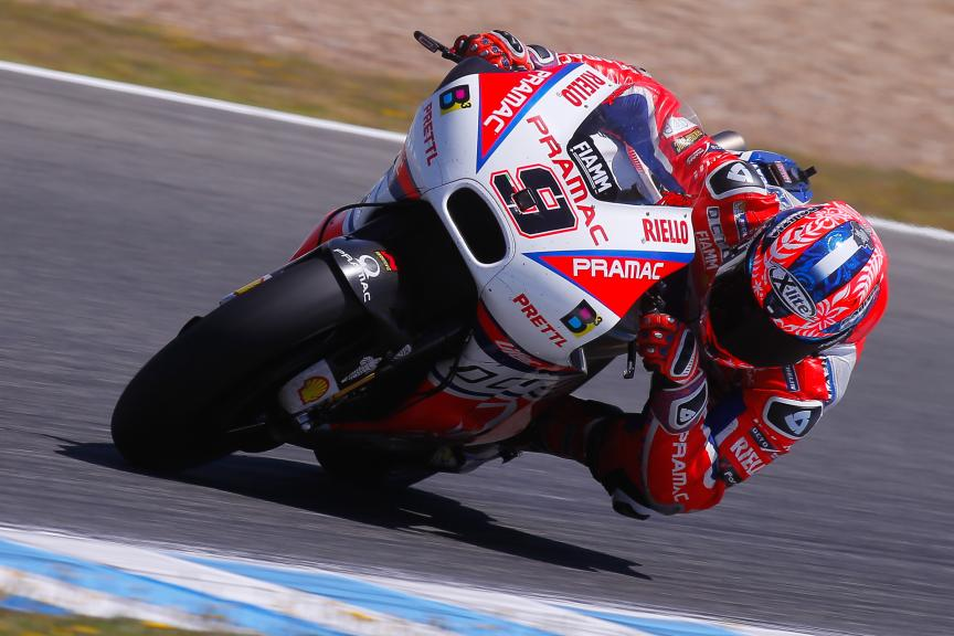 Danilo Petrucci, OCTO Pramac Racing, Jerez MotoGP™ Official Test