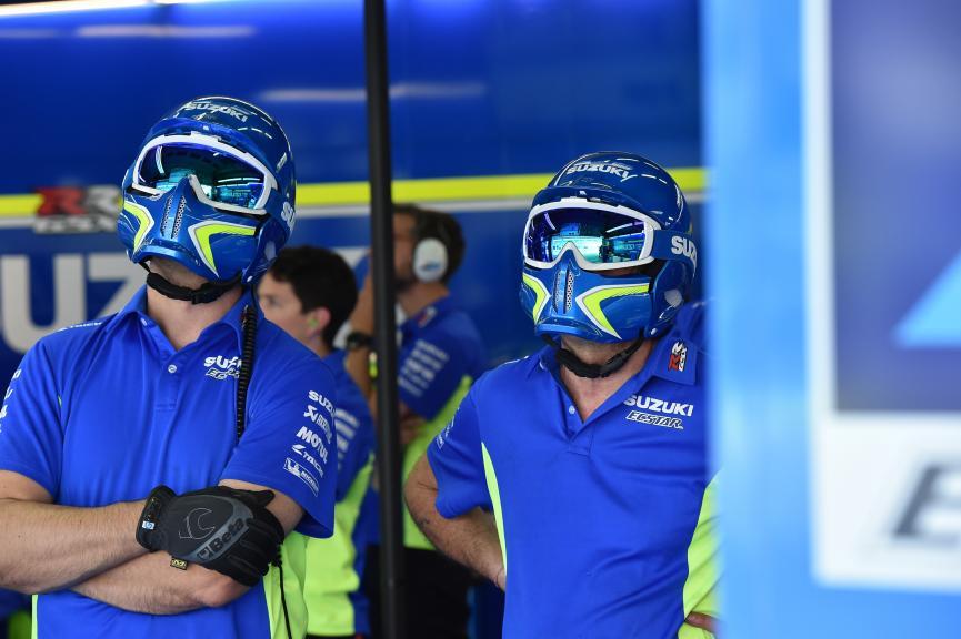Team Suzuki Ecstar, Gran Premio Red Bull de España