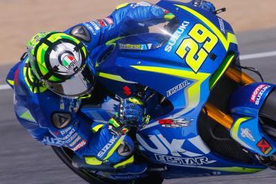 Caduta in gara per Iannone, OK il lunedì a Jerez
