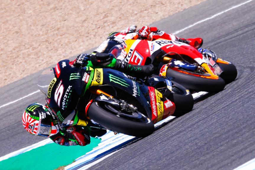 Johann Zarco, Monster Yamaha Tech 3, Marc Marquez, Repsol Honda Team, Gran Premio Red Bull de España