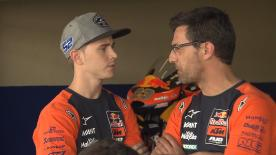 The 2015 Moto3™ World Champion talks about his wildcard with Red Bull KTM Ajo in Le Mans and the future