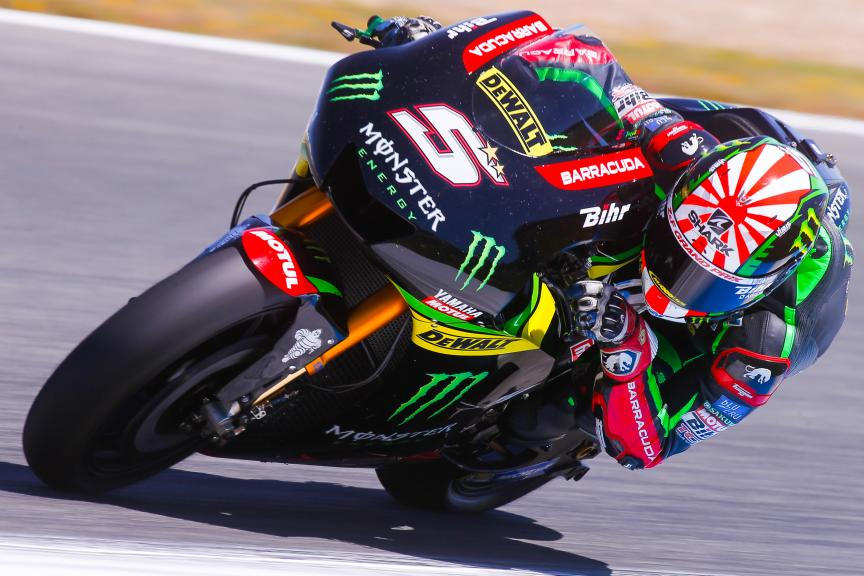 Johann Zarco, Monster Yamaha Tech 3, Jerez MotoGP™ Official Test