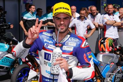 """Fenati: """"The race was very difficult"""""""