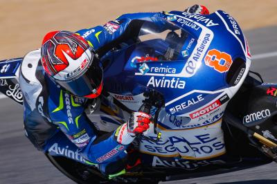 Barbera and Baz battle in Jerez before positive test