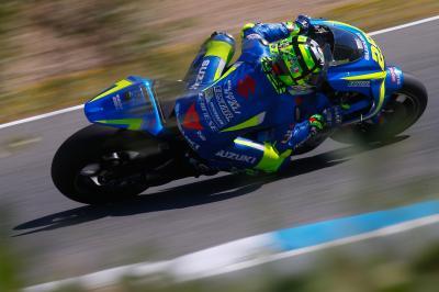 """Ianonne tuvo """"uno de los mejores test con Suzuki"""" en Jerez"""