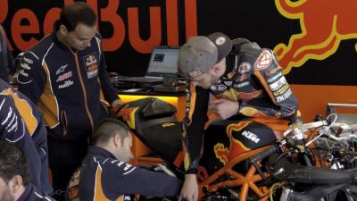 Inside the Red Bull KTM Ajo Moto2 team