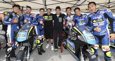 VR46 Master Camp riders speed up on second day