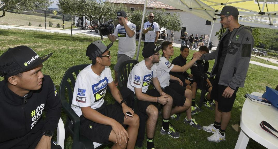 Master Camp Riders Meet Valentino Rossi at the VR46 Motor Ranch