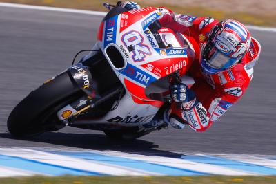 "Dovizioso: ""We are not as competitive as we expected"""
