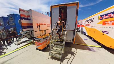 360º with Marc Marquez in the #SpanishGP Paddock
