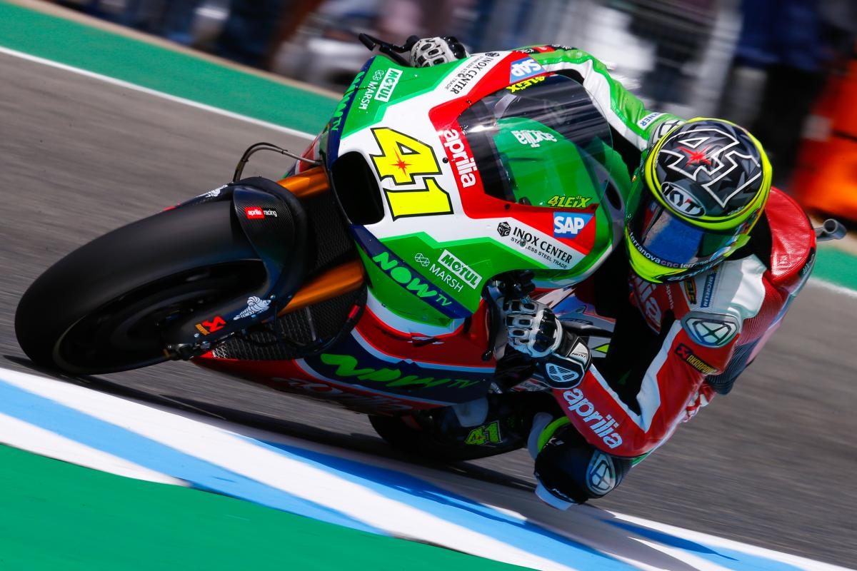 "Aleix Espargaro: ""We improved the front end"" 