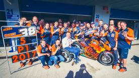 The Red Bull KTM Motorsport Director talks about the challenges of building a team to compete in MotoGP™