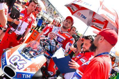 Dovizioso: 'Le Mans es un circuito favorable para nosotros'