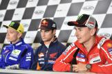 Valentino Rossi, Dani Pedrosa, Jorge Lorenzo, HJC Helmets Grand Prix de France