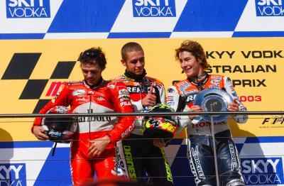 Rossi über Hayden