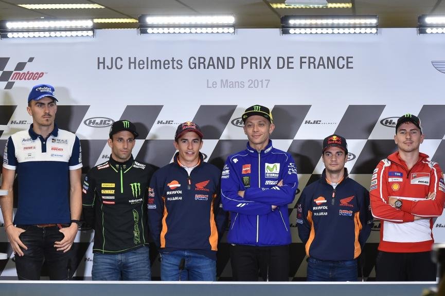 Press-Conference, HJC Helmets Grand Prix de France