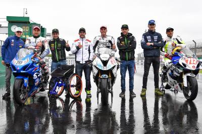 International Handy Racers meet MotoGP™ stars