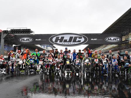 Off-Track HJC Helmets Grand Prix de France