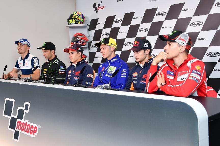 Press-Conference, HJC Helmets Grand Prix de France