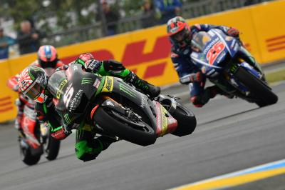 Zarco in the top three to begin home GP