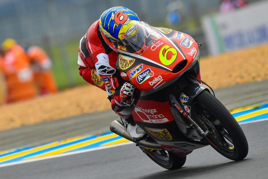 Maria Herrera, AGR Team, HJC Helmets Grand Prix de France