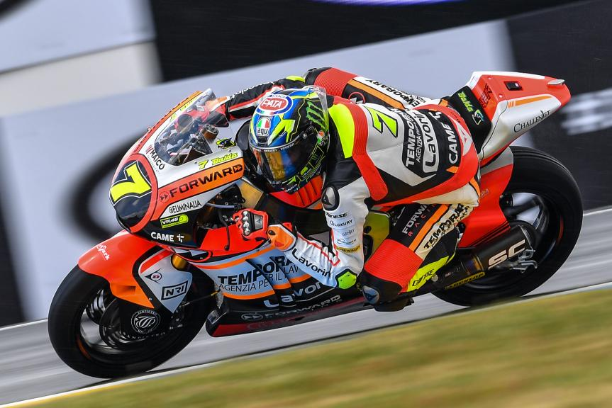 Lorenzo Baldassari, Forward Racing Team, HJC Helmets Grand Prix de France