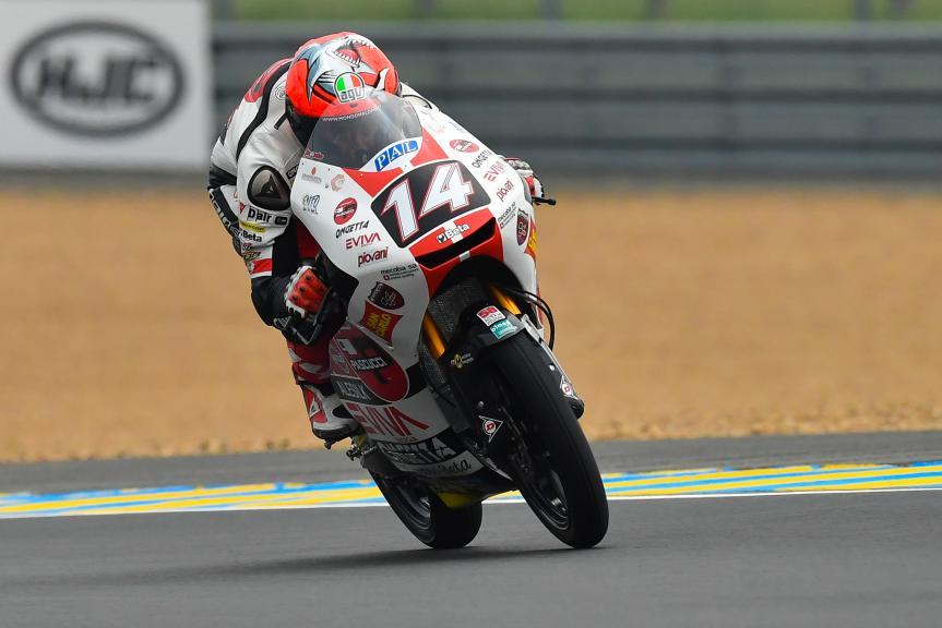 Tony Arbolino, SIC58 Squadra Corse, HJC Helmets Grand Prix de France