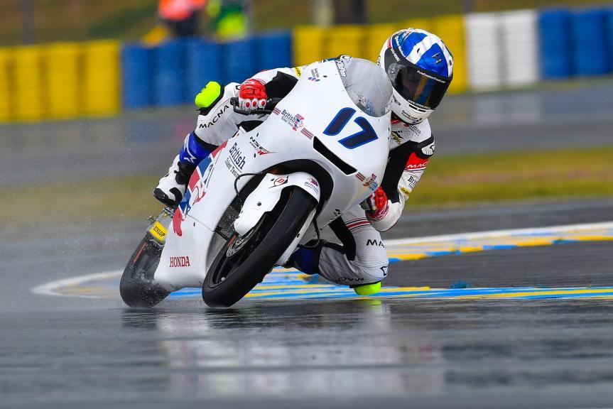 John Mcphee, British Talent Team, HJC Helmets Grand Prix de France