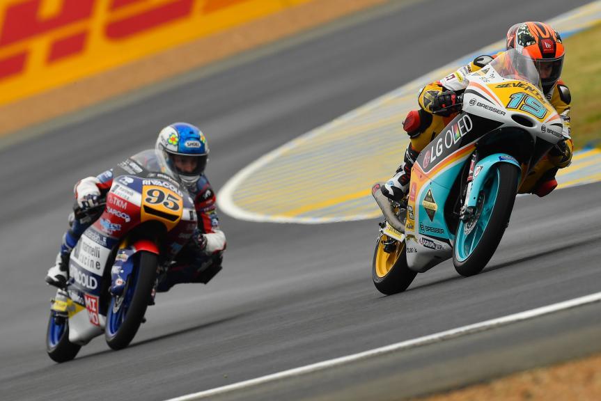 Gabriel Rodrigo, RBA BOE Racing Team, HJC Helmets Grand Prix de France