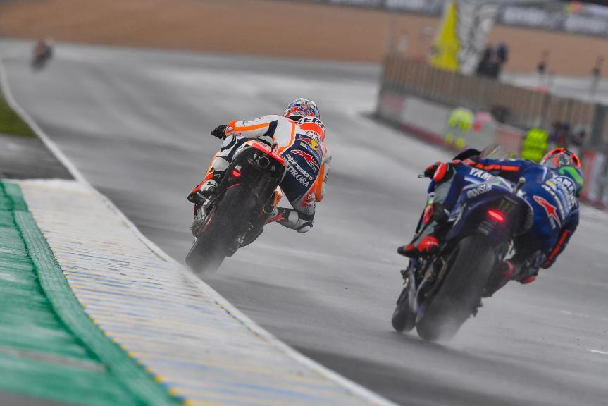 Dani Pedrosa, Maverick Vinales, HJC Helmets Grand Prix de France