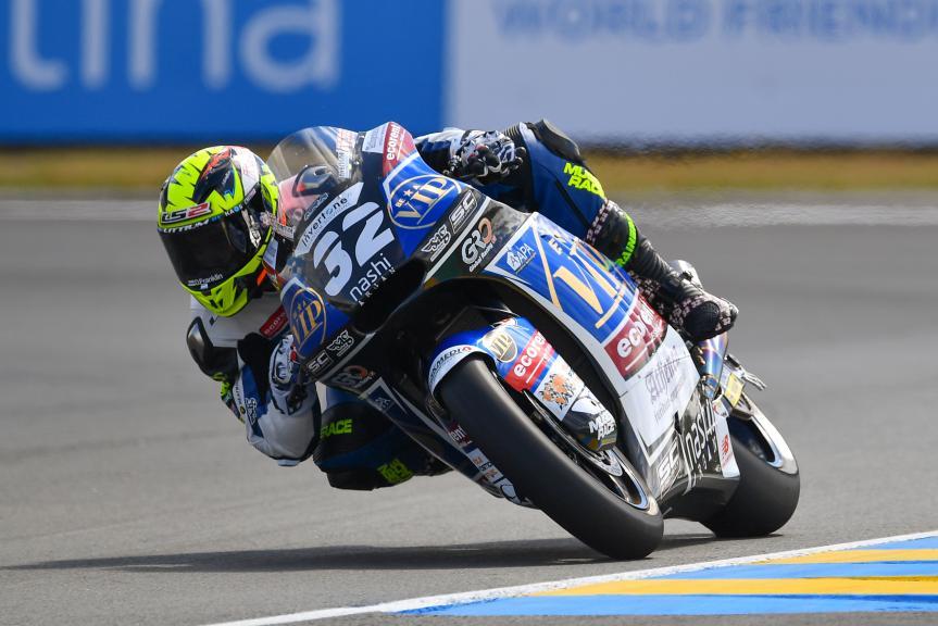 Isaac Vinales, SAG Team, HJC Helmets Grand Prix de France