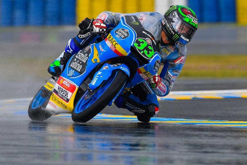 Enea bastianini, Estrella Galicia 0,0, HJC Helmets Grand Prix de France