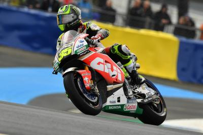 "Crutchlow: ""If it was Sunday we would have been there'"