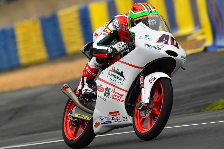 Darryn Binder, Platinum Bay Real Estate, HJC Helmets Grand Prix de France