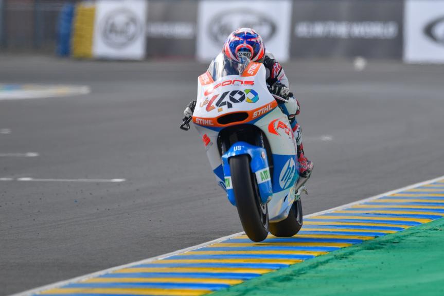 Fabio Quartararo, Pons HP40, HJC Helmets Grand Prix de France