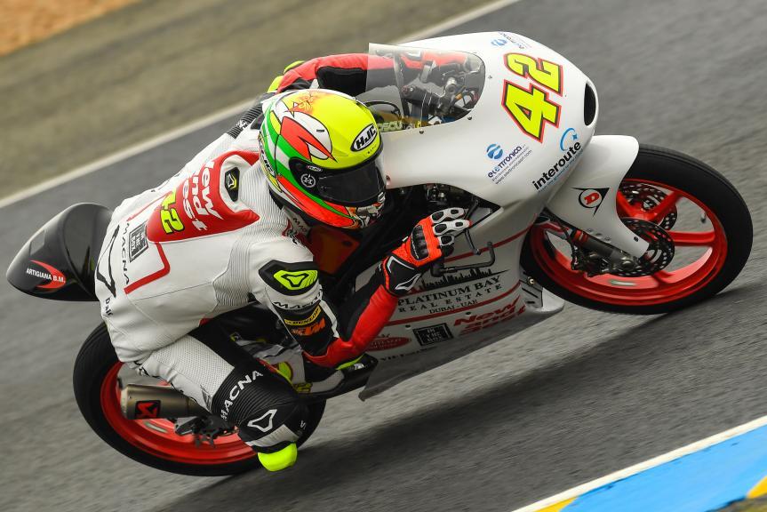 Marcos Ramirez, Platinum Bay Real Estate, HJC Helmets Grand Prix de France