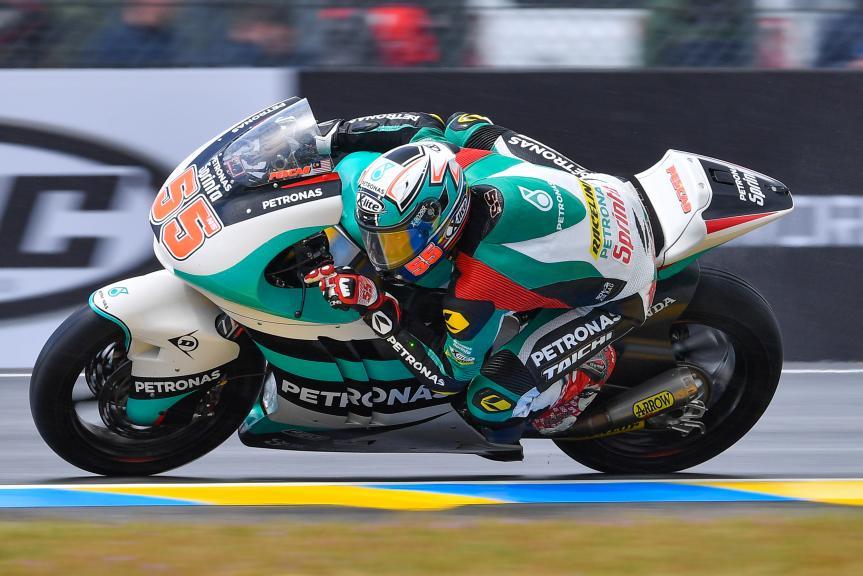 Hafizh Syahrin, Petronas Raceline Malaysia, HJC Helmets Grand Prix de France