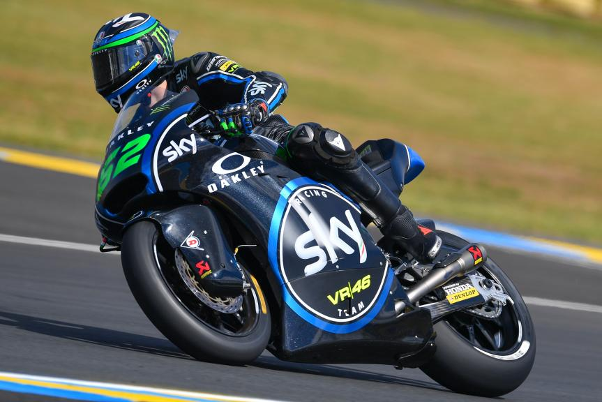 Stefano Manzi, Sky Racing Team VR46, HJC Helmets Grand Prix de France